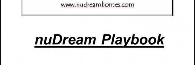 nuDream Homes Inc. – Playbook